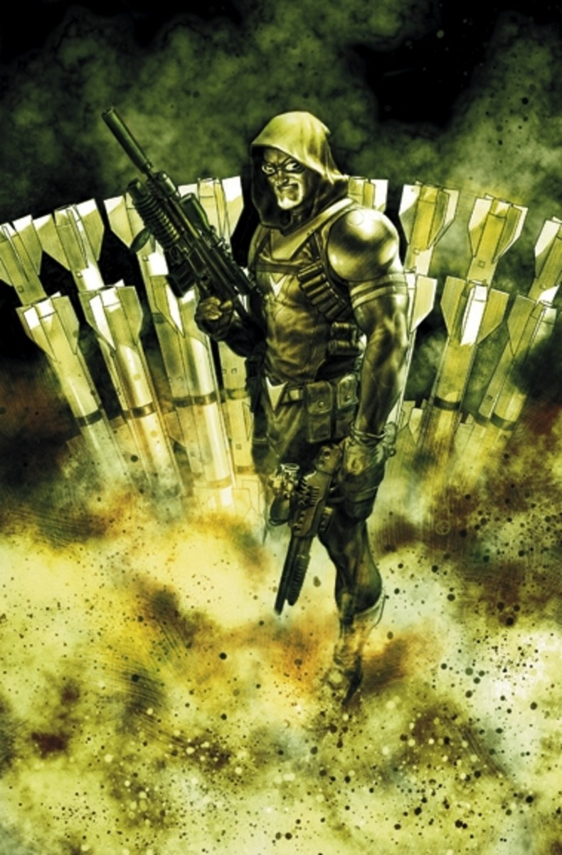 Flashpoint: Green Arrow Industries #1: CoverArt