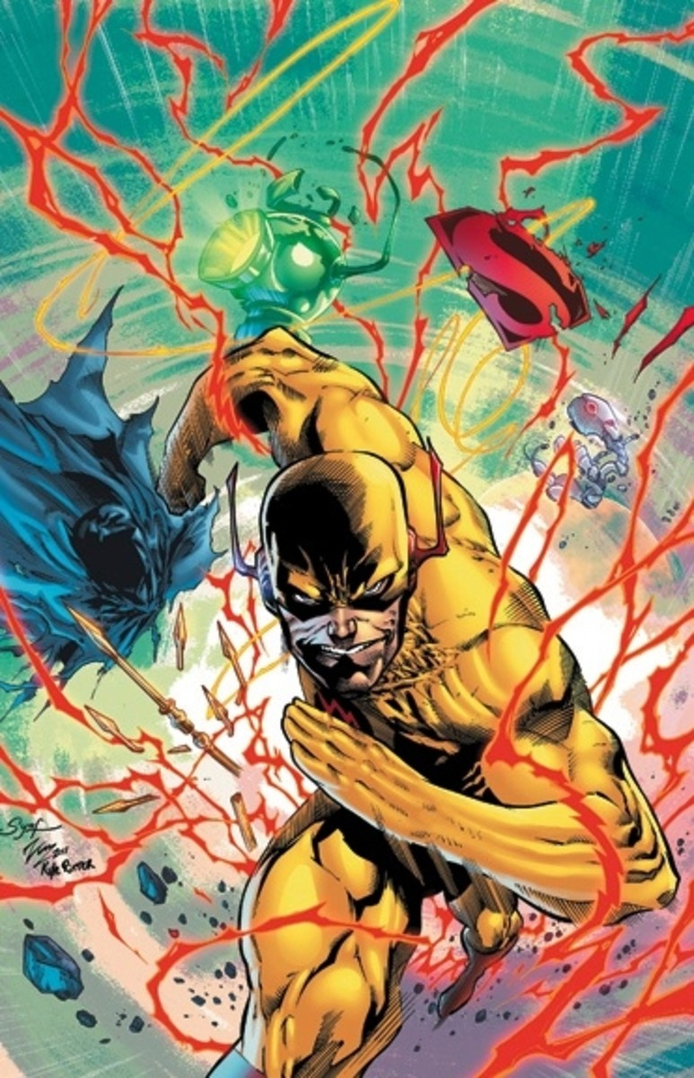 Flashpoint: Reverse Flash #1 Cover Art
