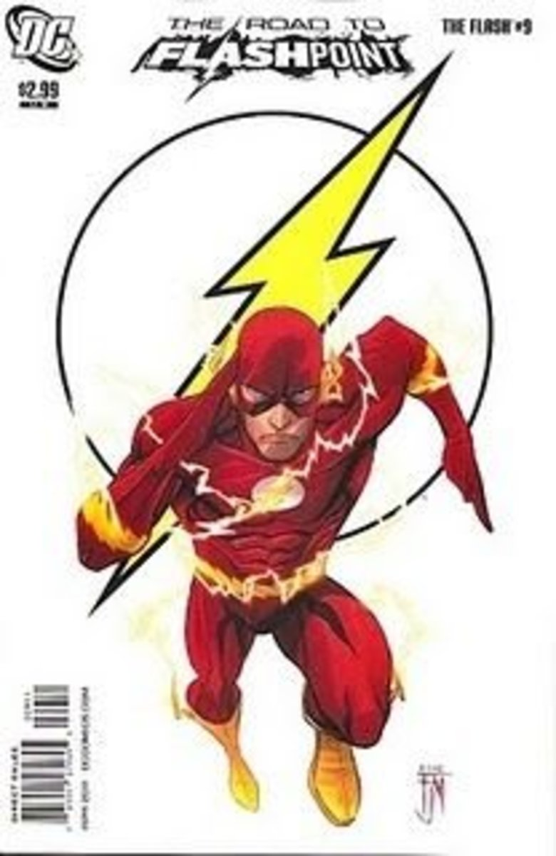 The Road to Flashpoint, Flash #9