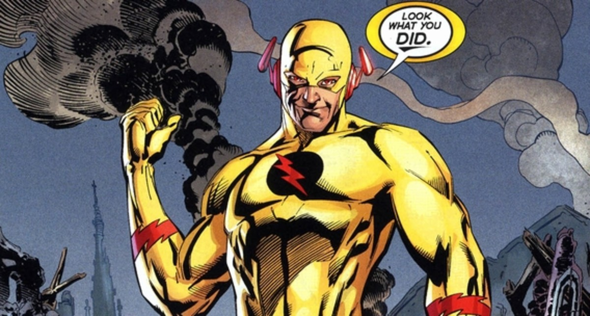 Flashpoint #4, The Reverse Flash