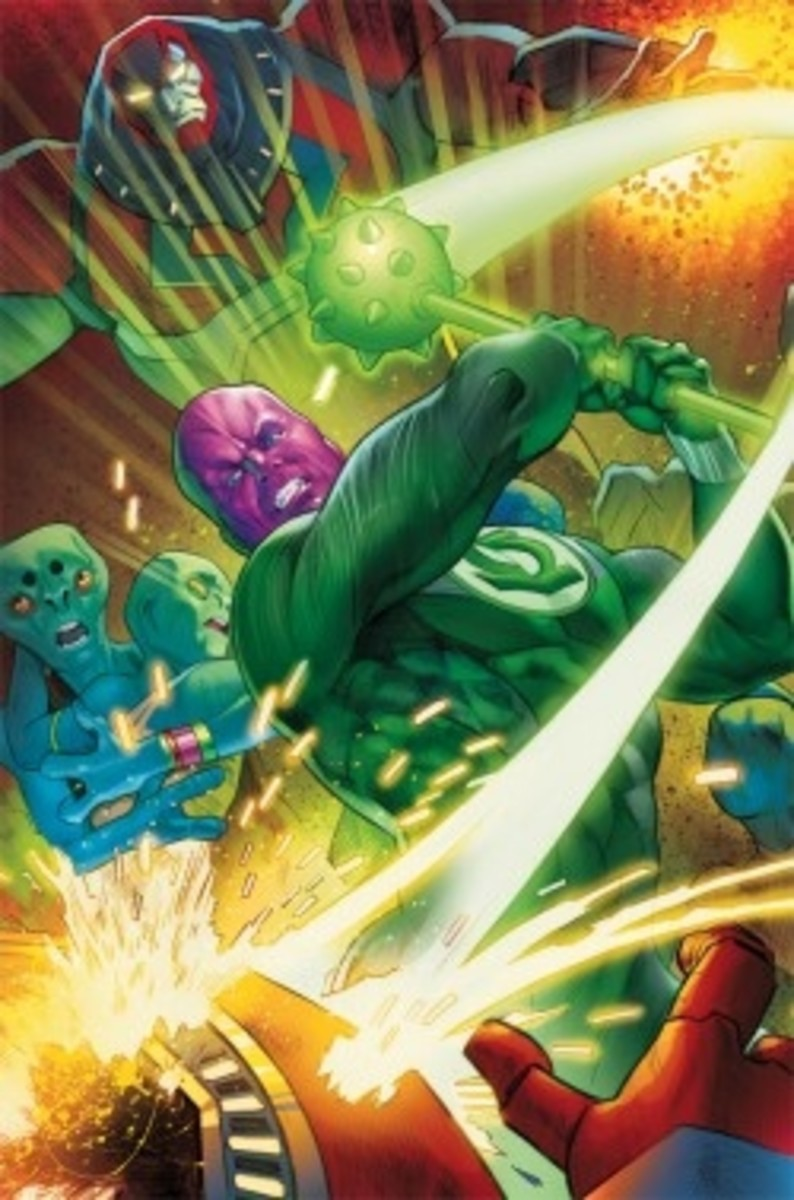 Flashpoint: Abin Sur, The Green Lantern #3 CoverArt