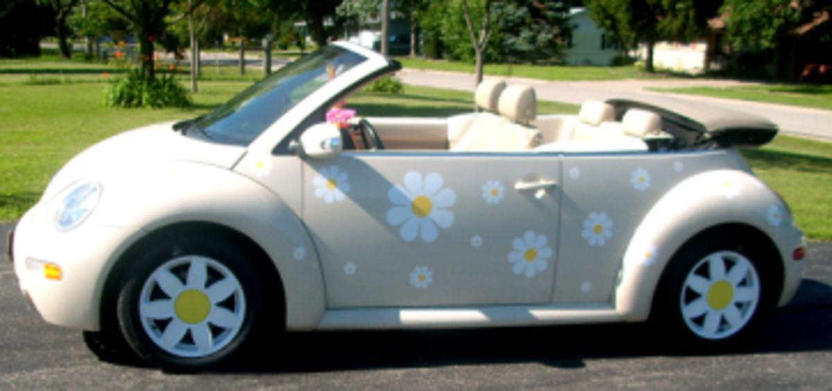 volkswagen beetle  car full  fun