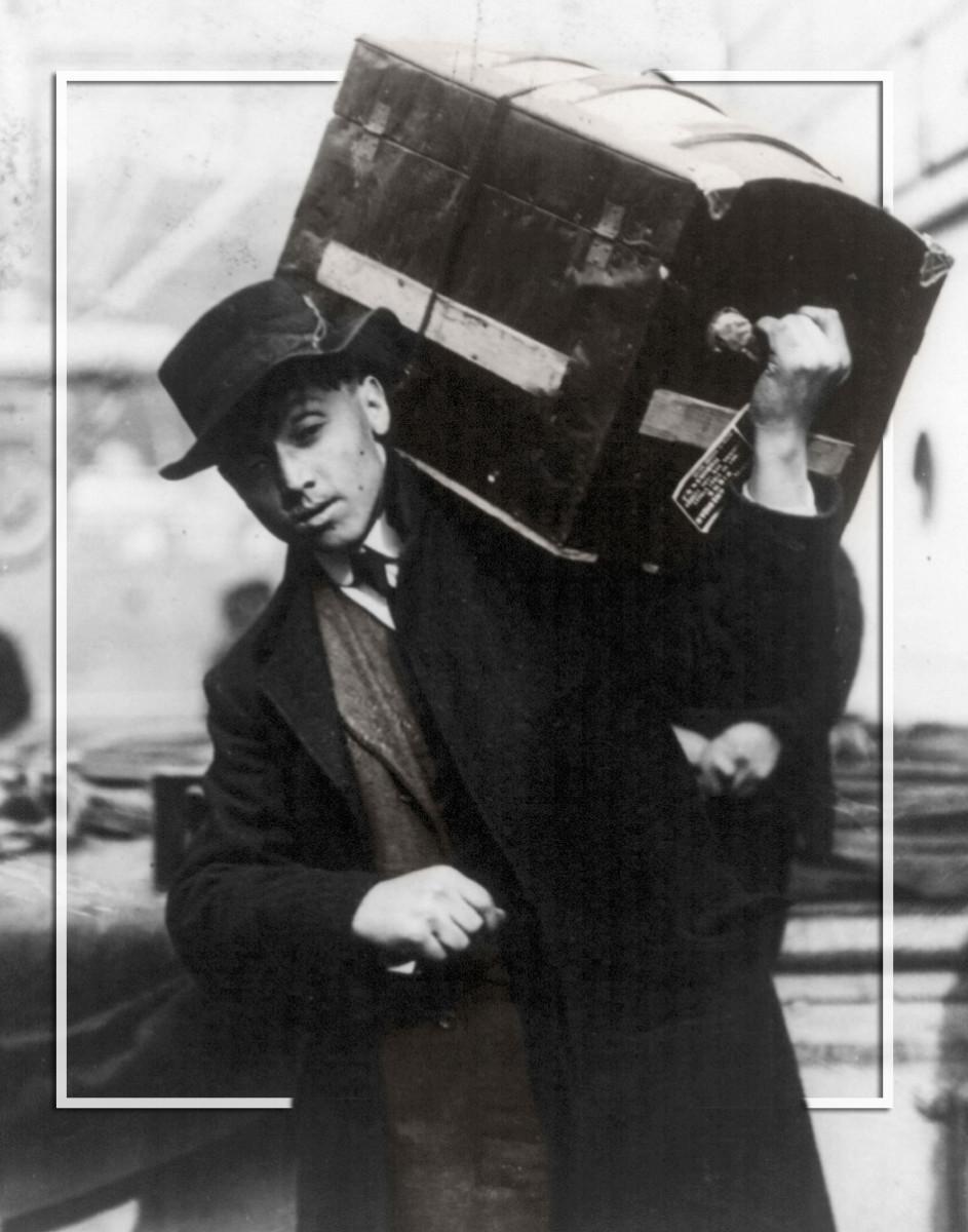 Ellis Island | Polish Immigrant 1907