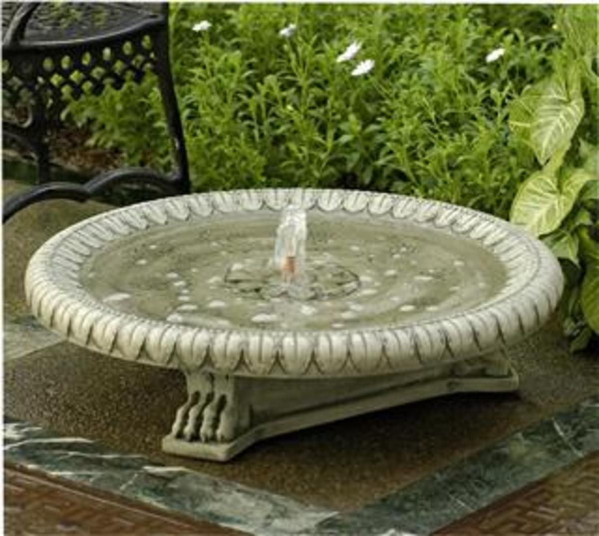 Picture of bird bath