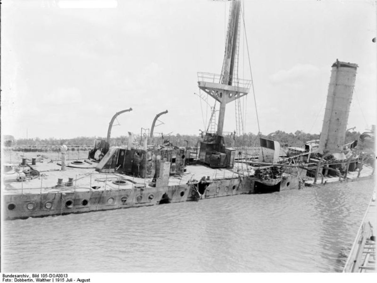 Wreck of SMS Knigsberg
