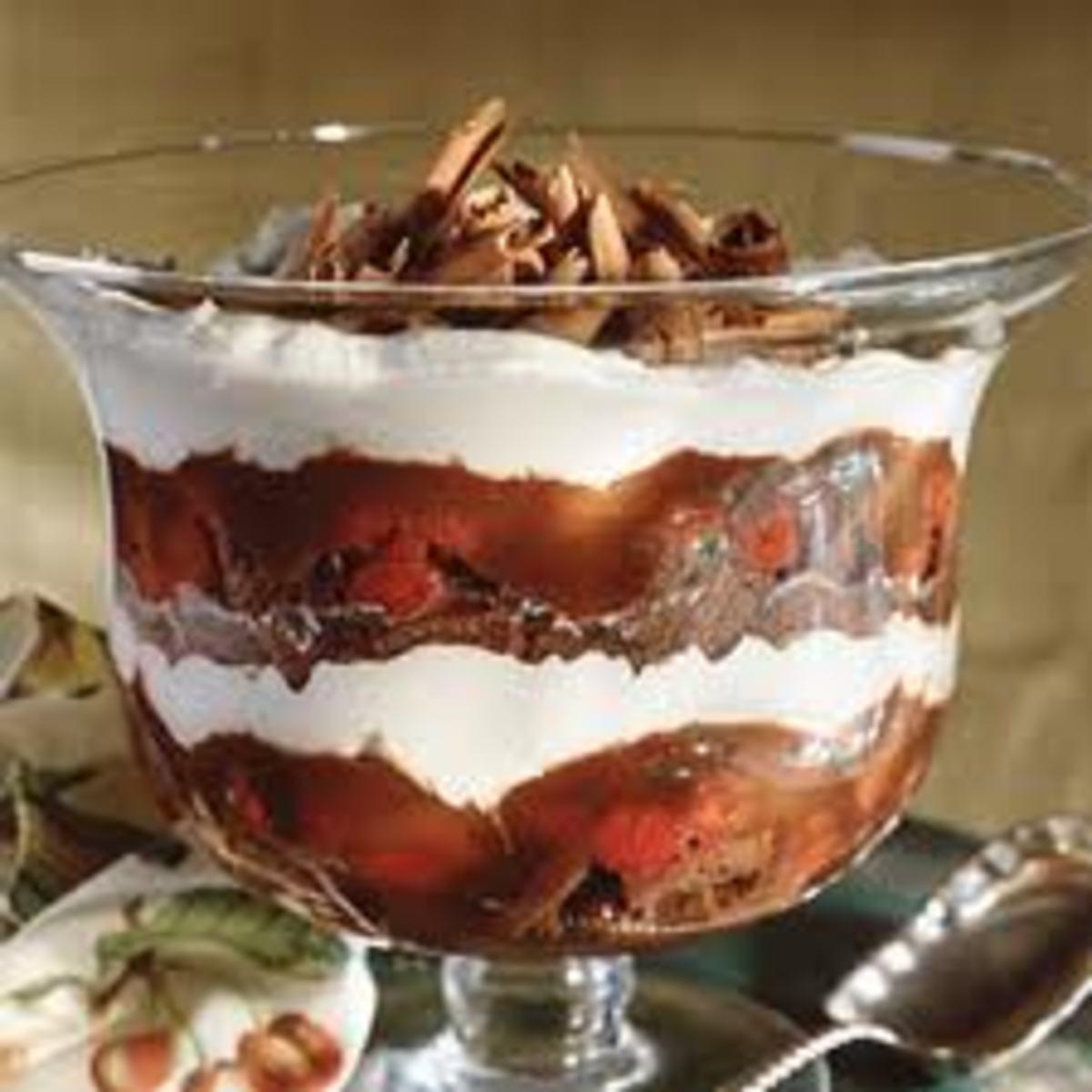 Easy Chocolate Berry Trifle Recipe