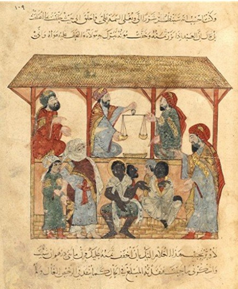 Slave Market in 13th Century Yemen