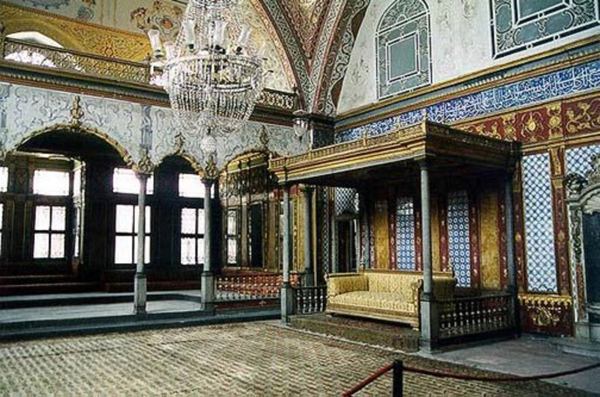Harem area today- Topkapi Palace