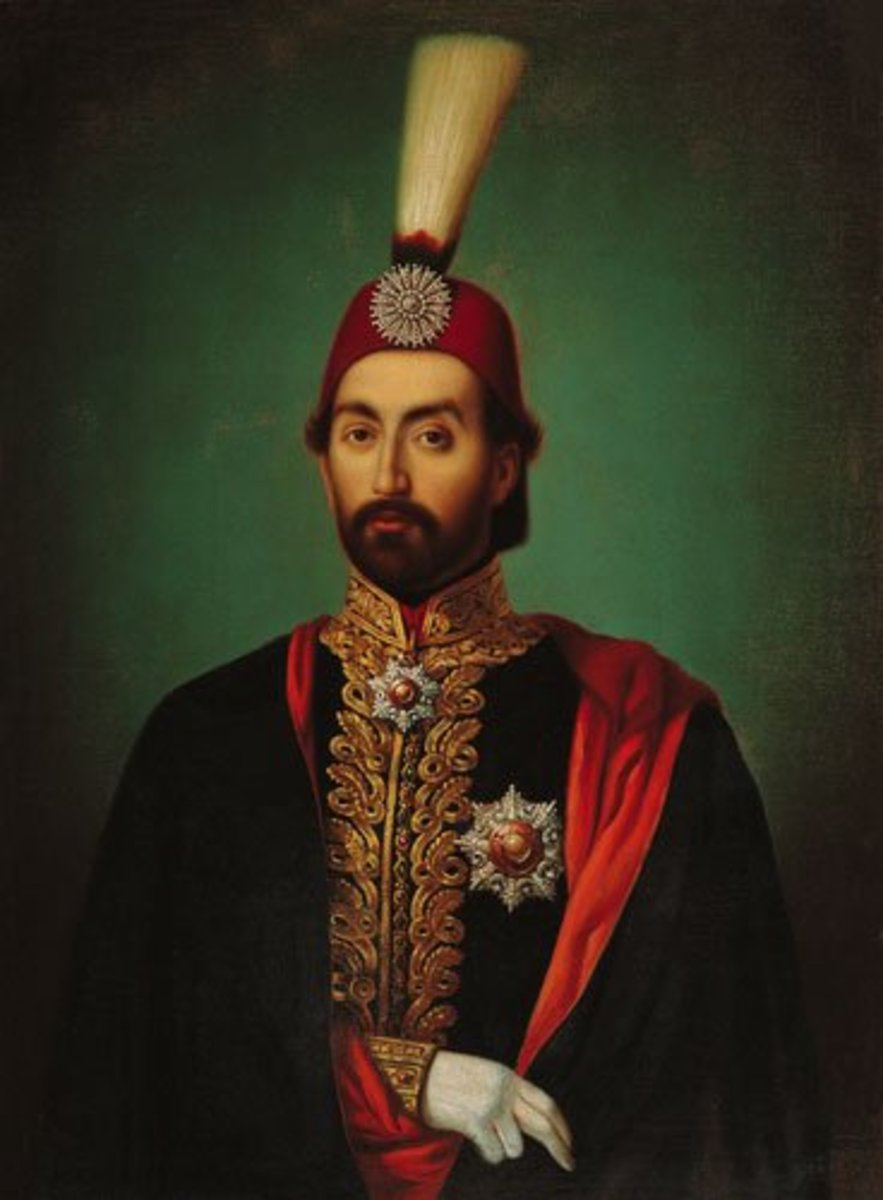 Abdulmecid, Sultan from 1839 to 1861