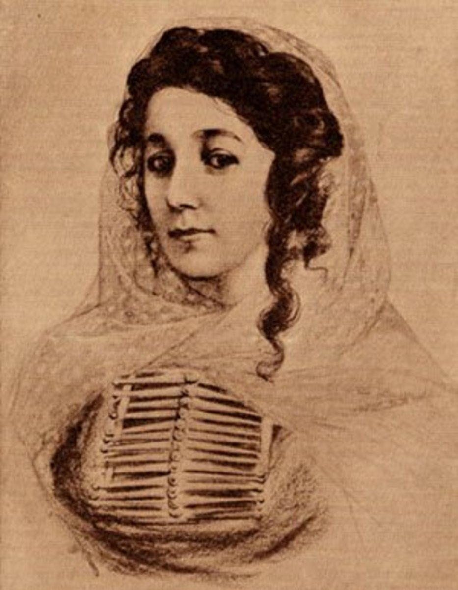 Portrait of a Young Circassian Woman, by Frank Millet