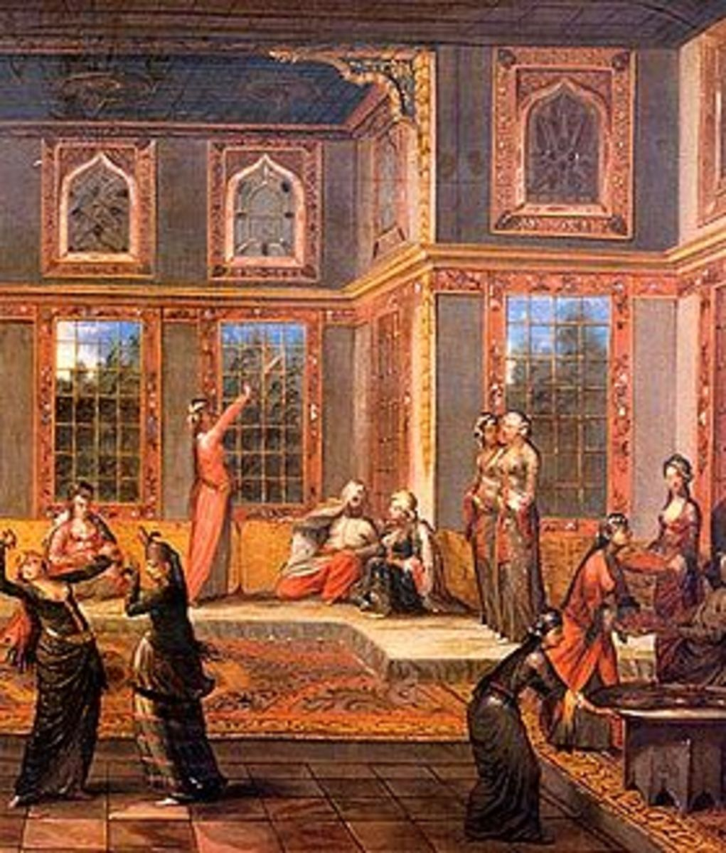 the-harem-luxuries-and-enslavement-within-the-sultans-palace