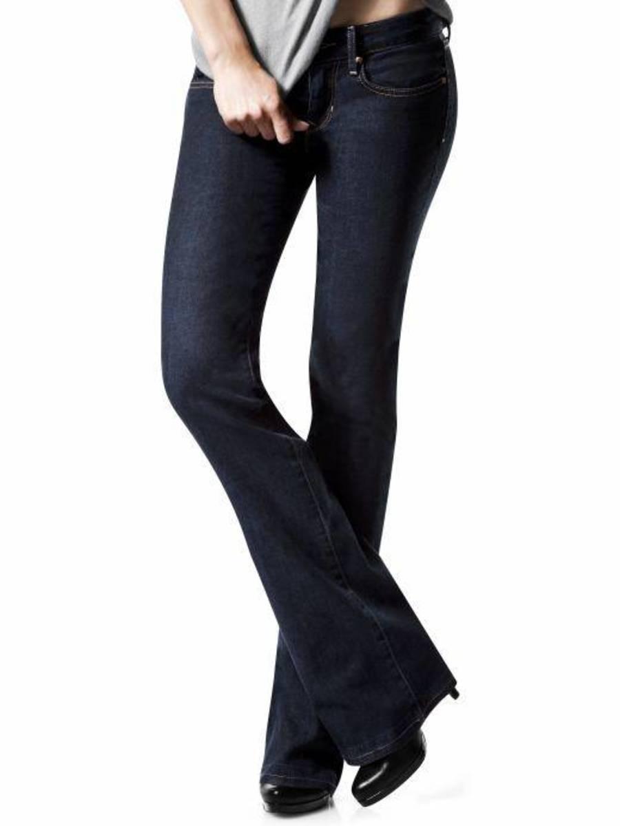 Dark Bootcut Jeans