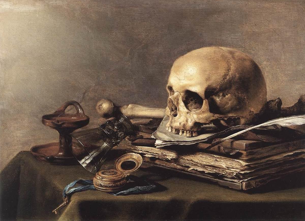 Figure 4. Pieter Claesz, Vanitas Still Life  c. 1630 (Mauritshuis, The Hague)