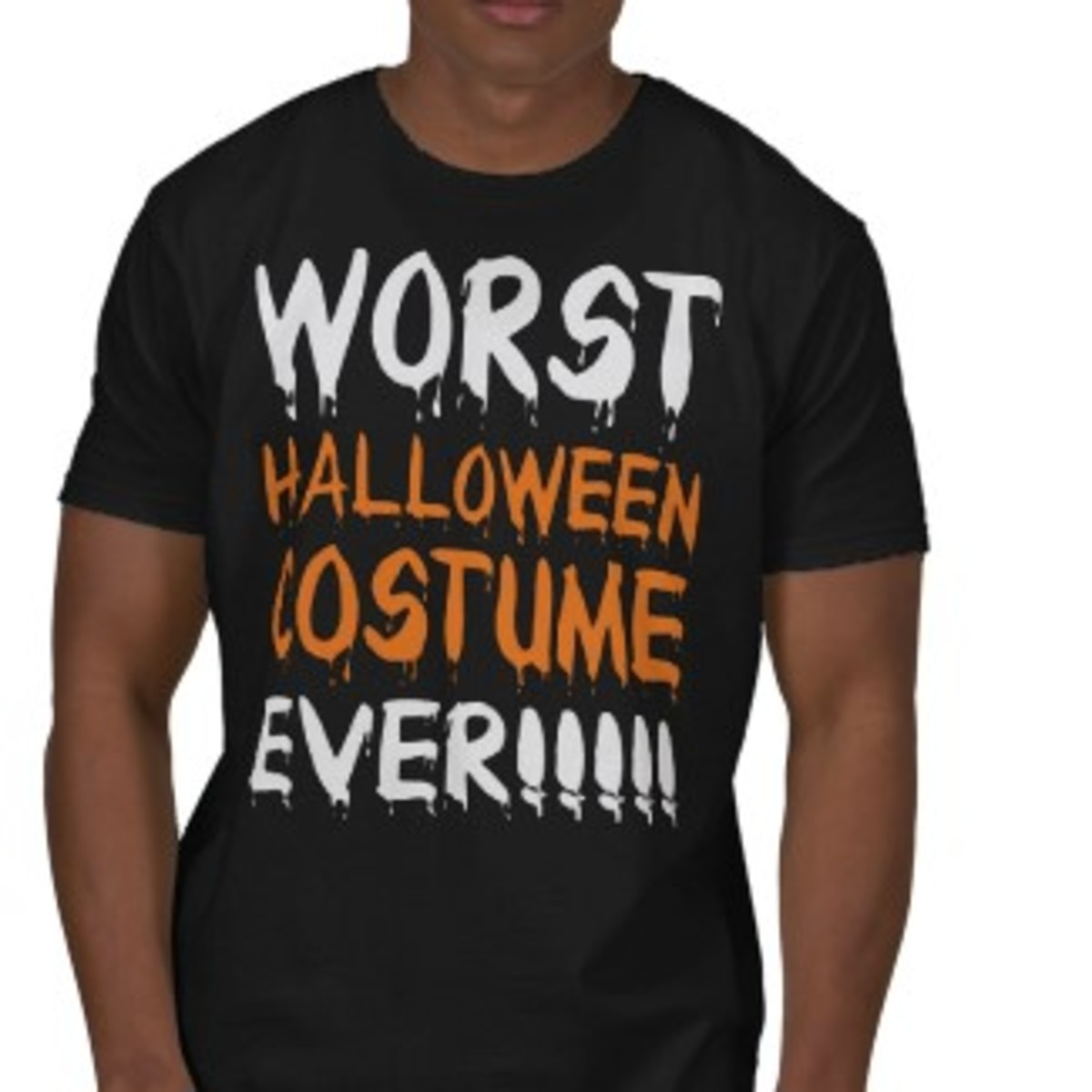 Funny Worst Halloween Costume Ever t shirt created by holidaysboutique on Zazzle.