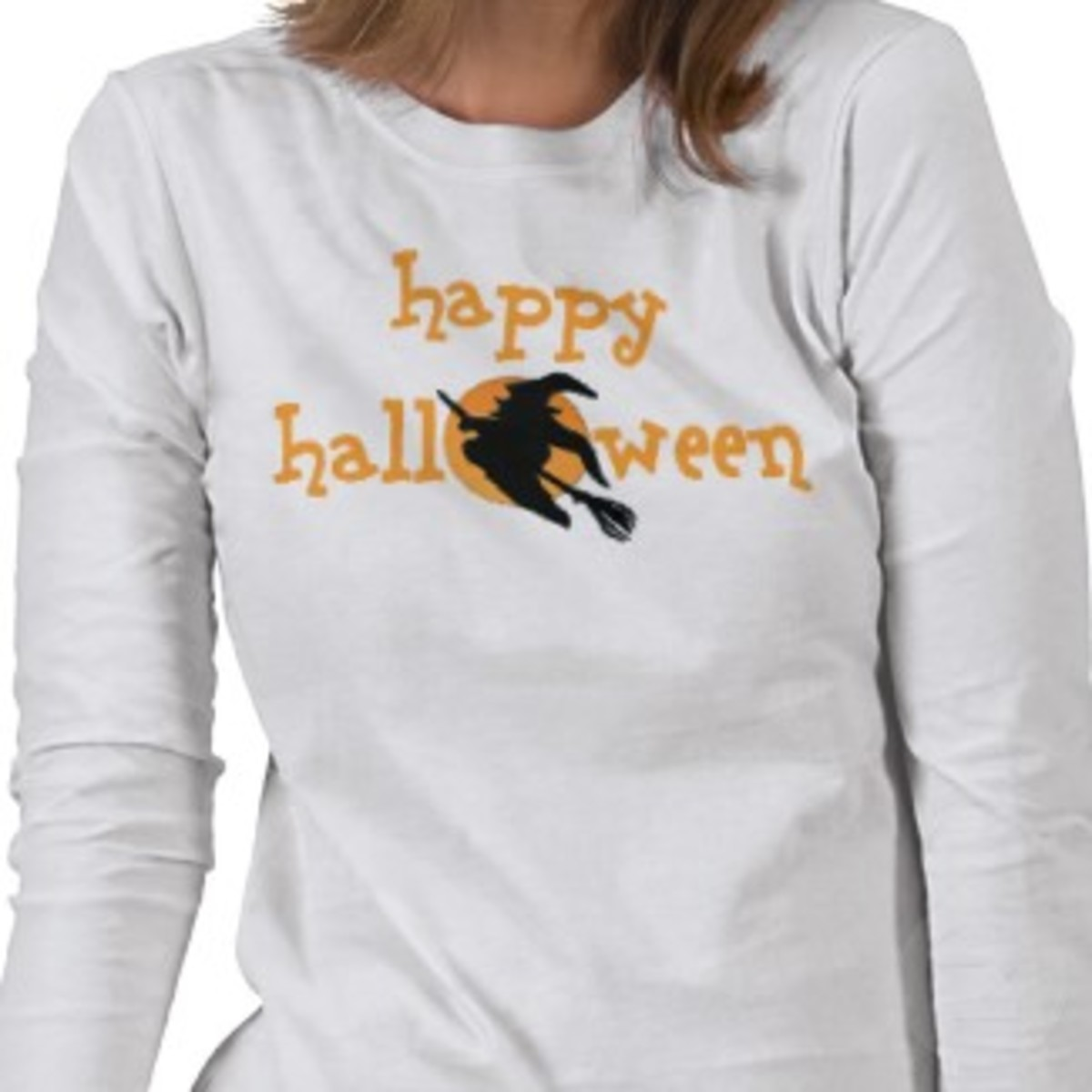 Happy Halloween witch t shirt or pjs created by halloweentreats on Zazzle