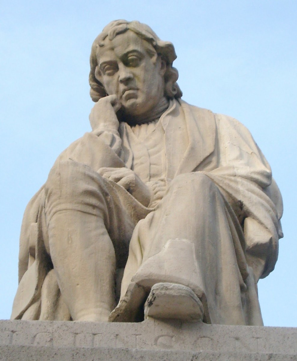 STATUE OF DR SAMUEL JOHNSON