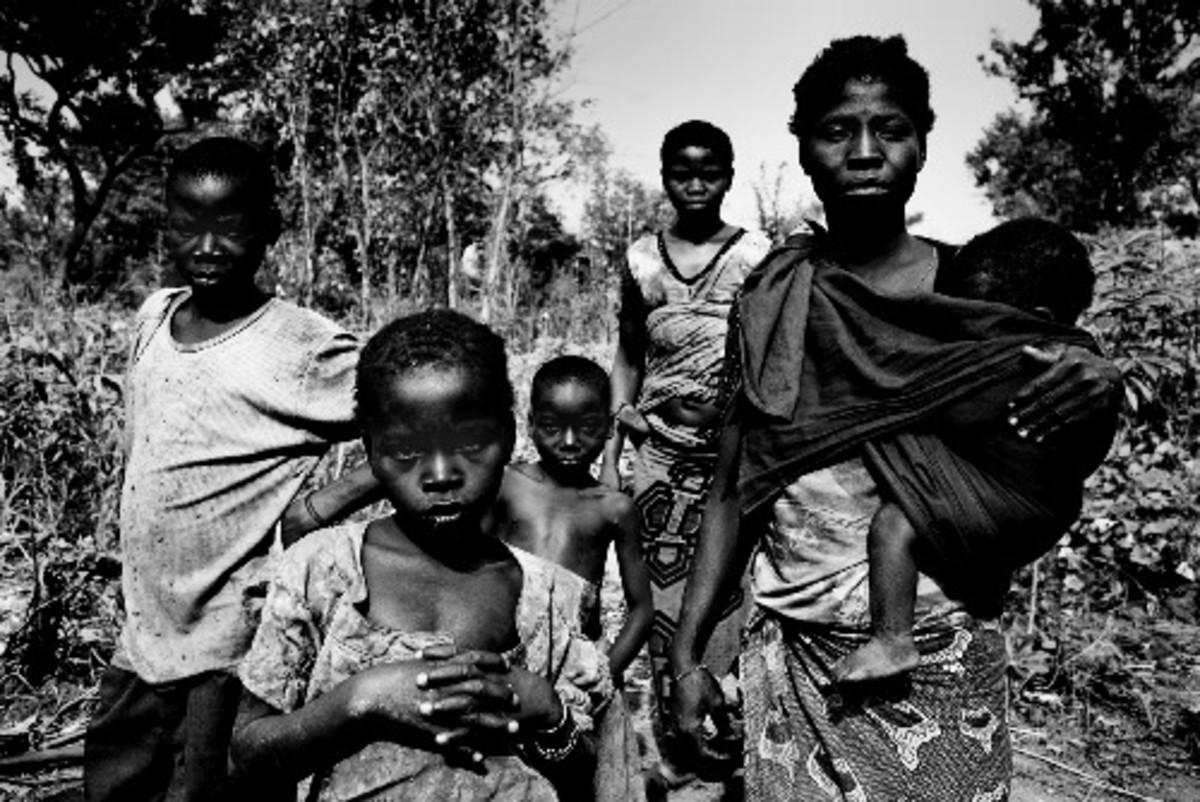 Modern Day Human Trafficking in America and Africa