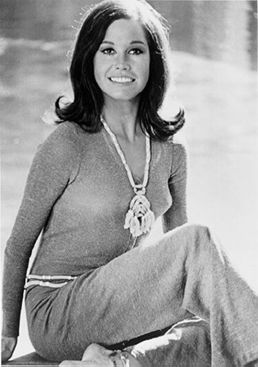 Mary Tyler Moore popularized the flip in the 70s.