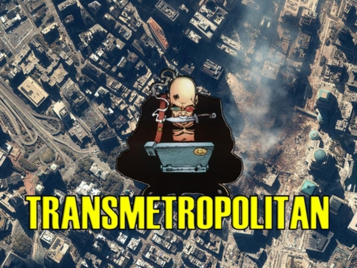 Transmetropolitan: A Textual Analysis