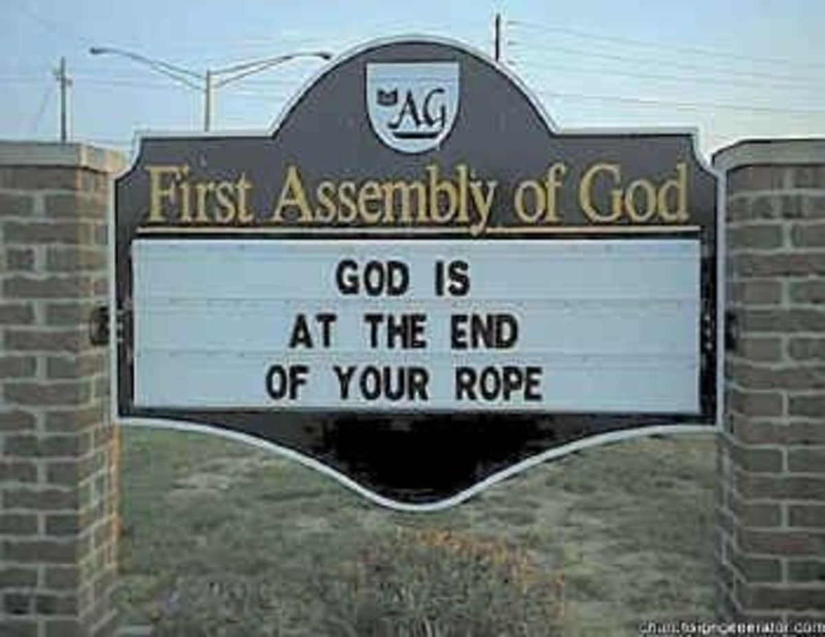 Inspirational Church Sign