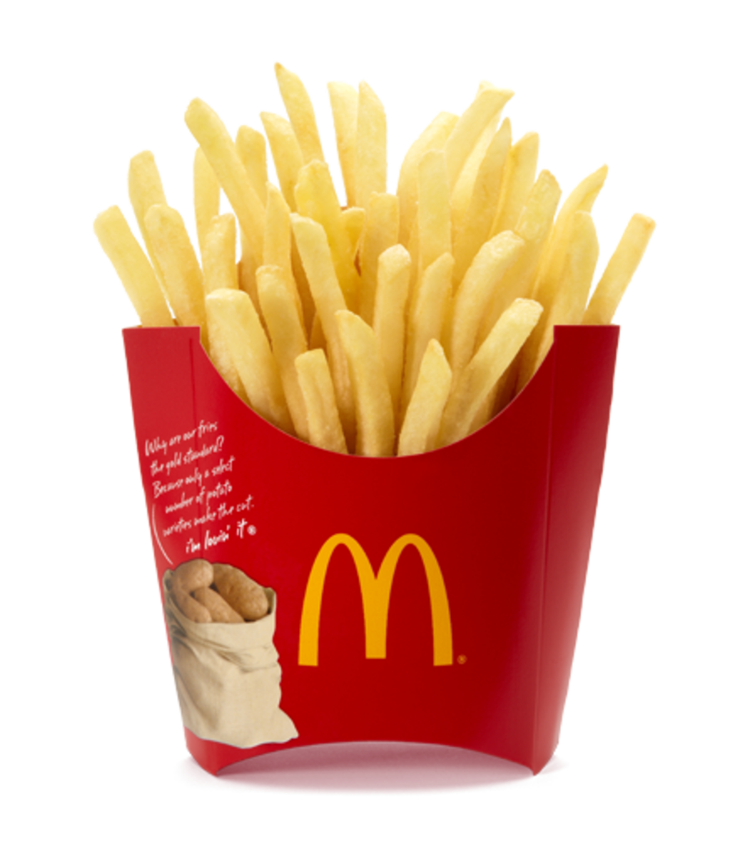 Fries - don't go there!