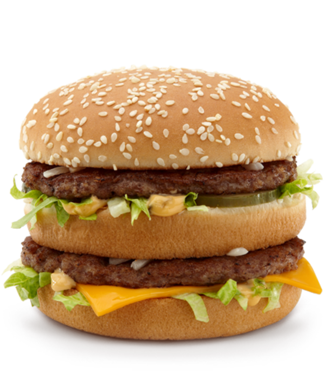 Eat a Big Mac without the bun and you will be low on carbs