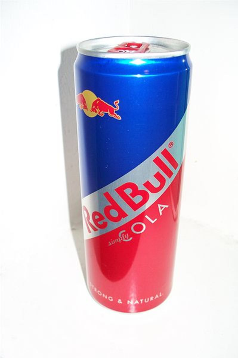 Energy Drinks: Blu vs. Red Bull