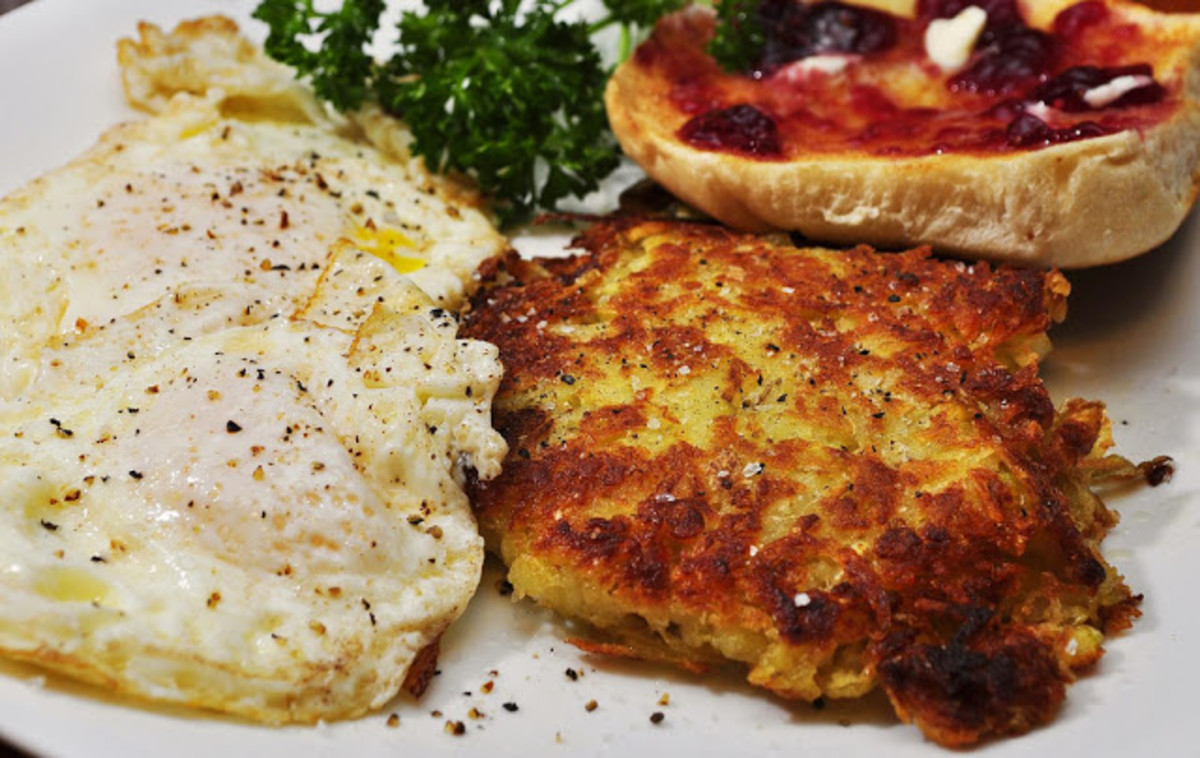 Mmm... hash browns for breakfast