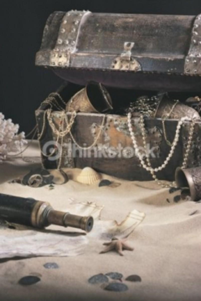28467 - Calabash Nautical Gifts - Pirate Decor