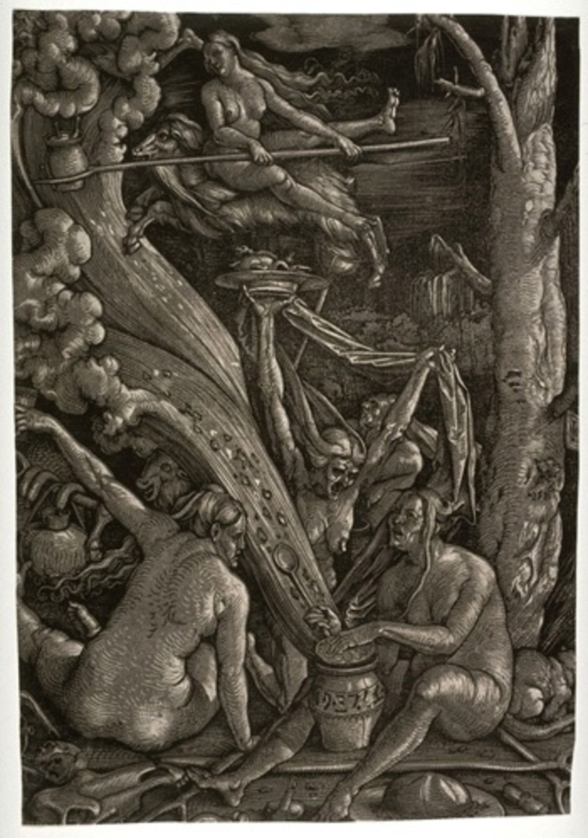 Witches' Sabbath. Hans Baldung Grien 1510