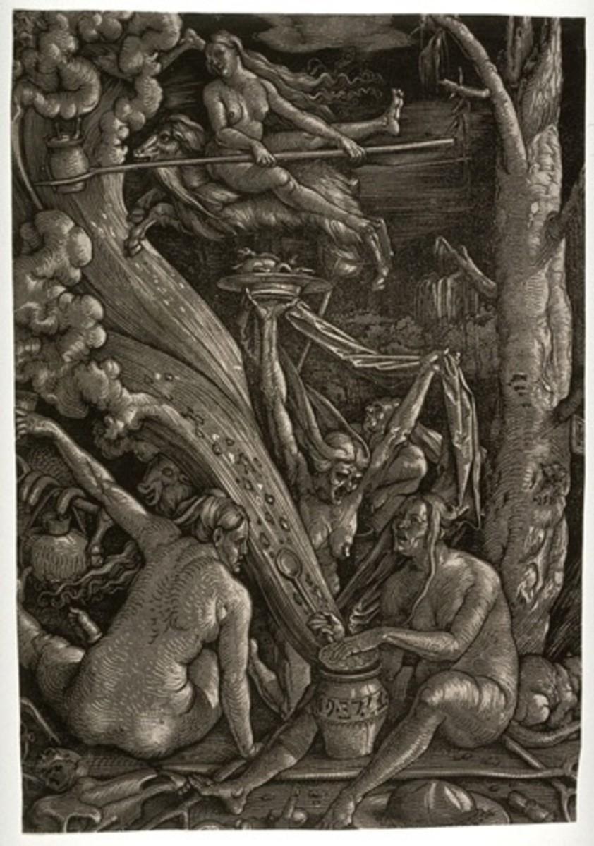 Witches' Sabbath. Hans Baldung Grien 1510