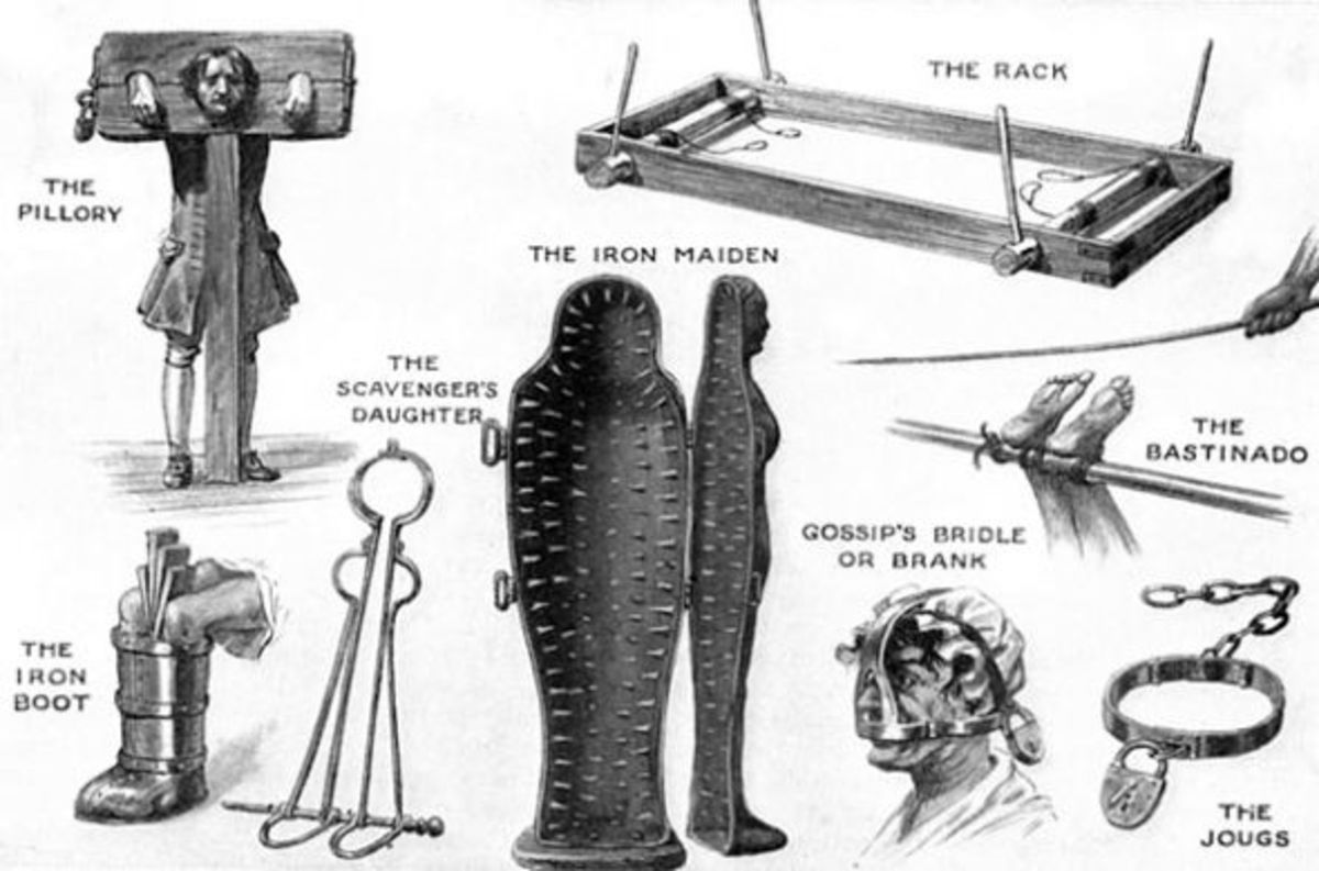 Torture devices.