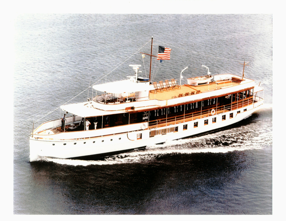 USS Sequoia: the Presidential Yacht