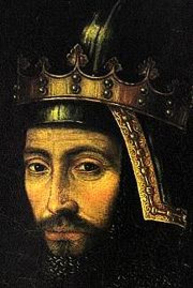 posthumous portrait of John of Gaunt, circa 1650