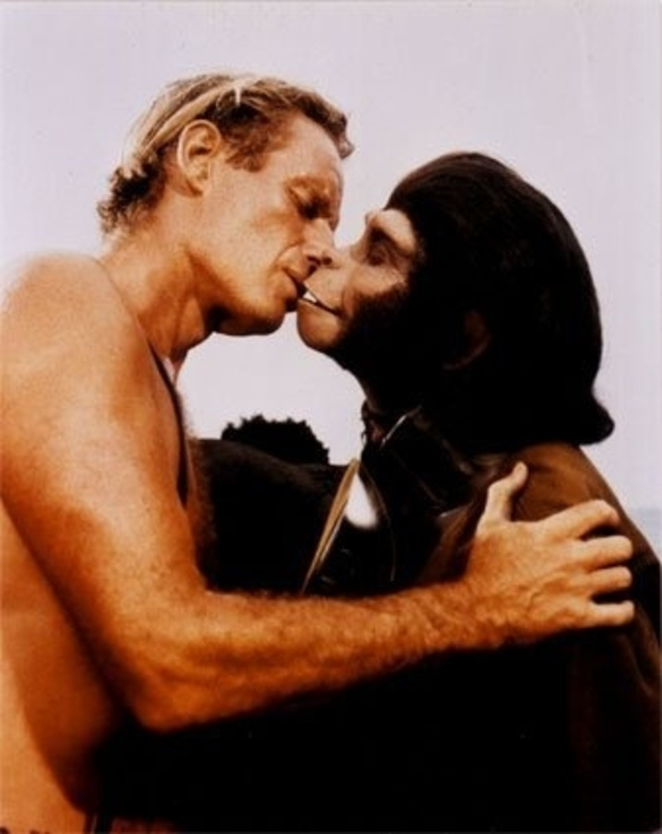 Would You or Wouldn't You Have Kissed This Ape?