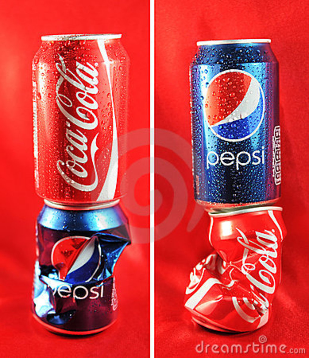 coke and pepsi marketing analysis From the 1930s through the late 1950s, pepsi-cola hits the spot  launched  the highly successful pepsi stuff marketing strategy.