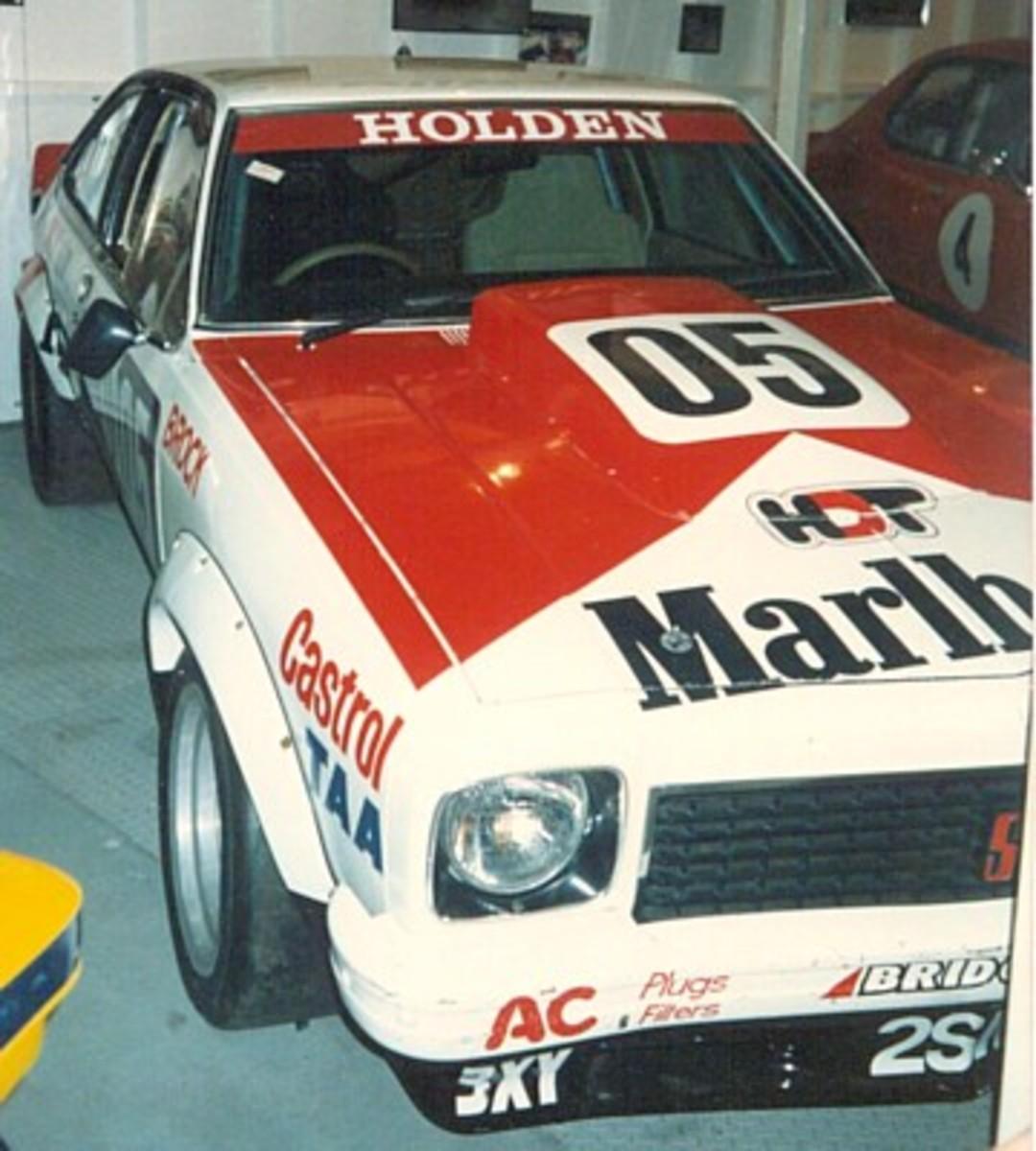 Peter Brock's winning GMH Torana XU-1