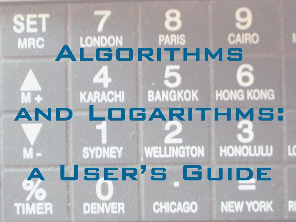 Algorithms and Logarithms: a User's Guide
