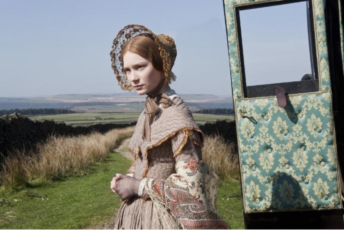 Jane Eyre (Mia Wasikowska).