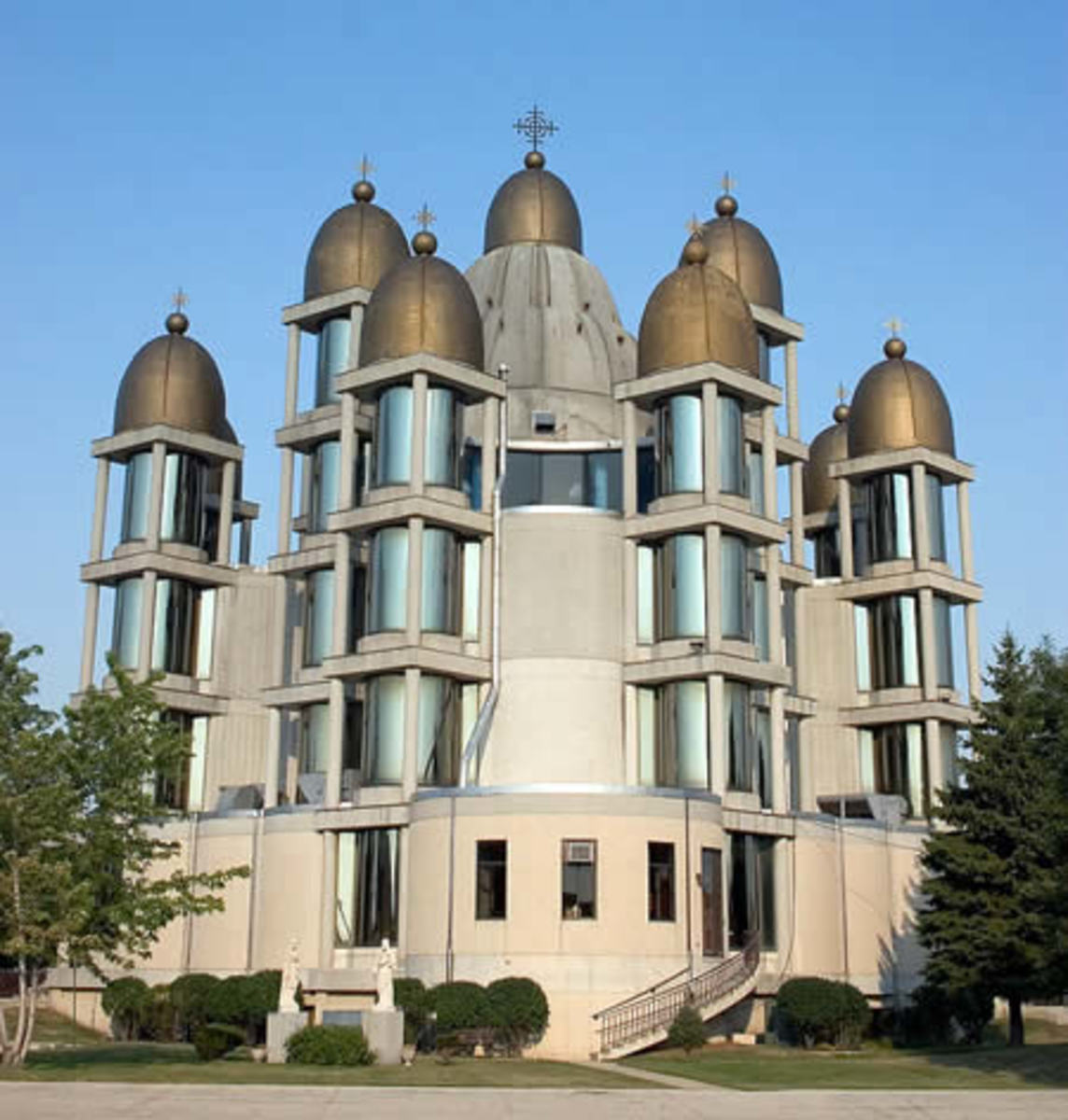 St. Joseph Church: Known for the 13 golden domes.