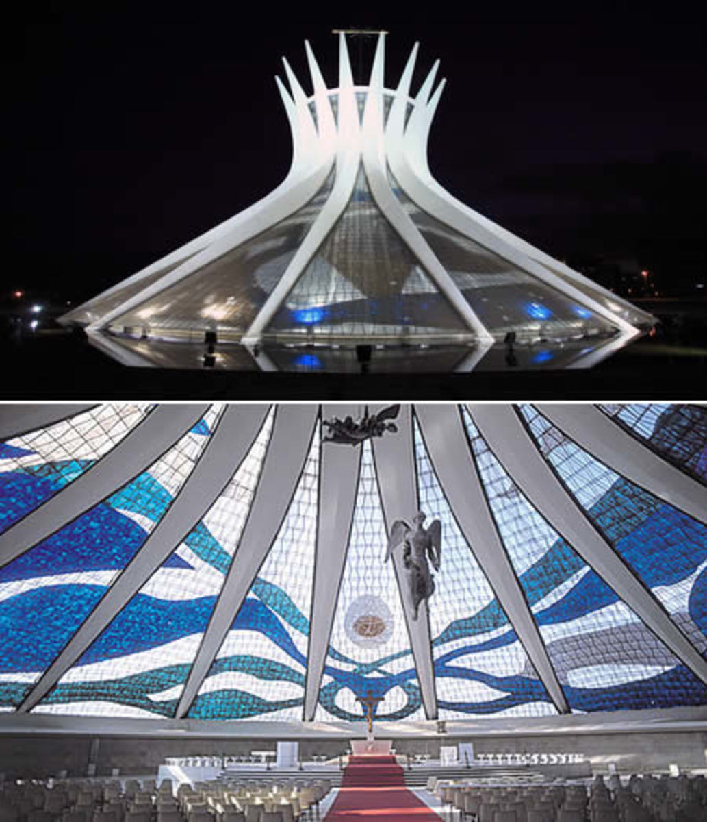 Modern -  Church of the architect Oscar Niemeyer