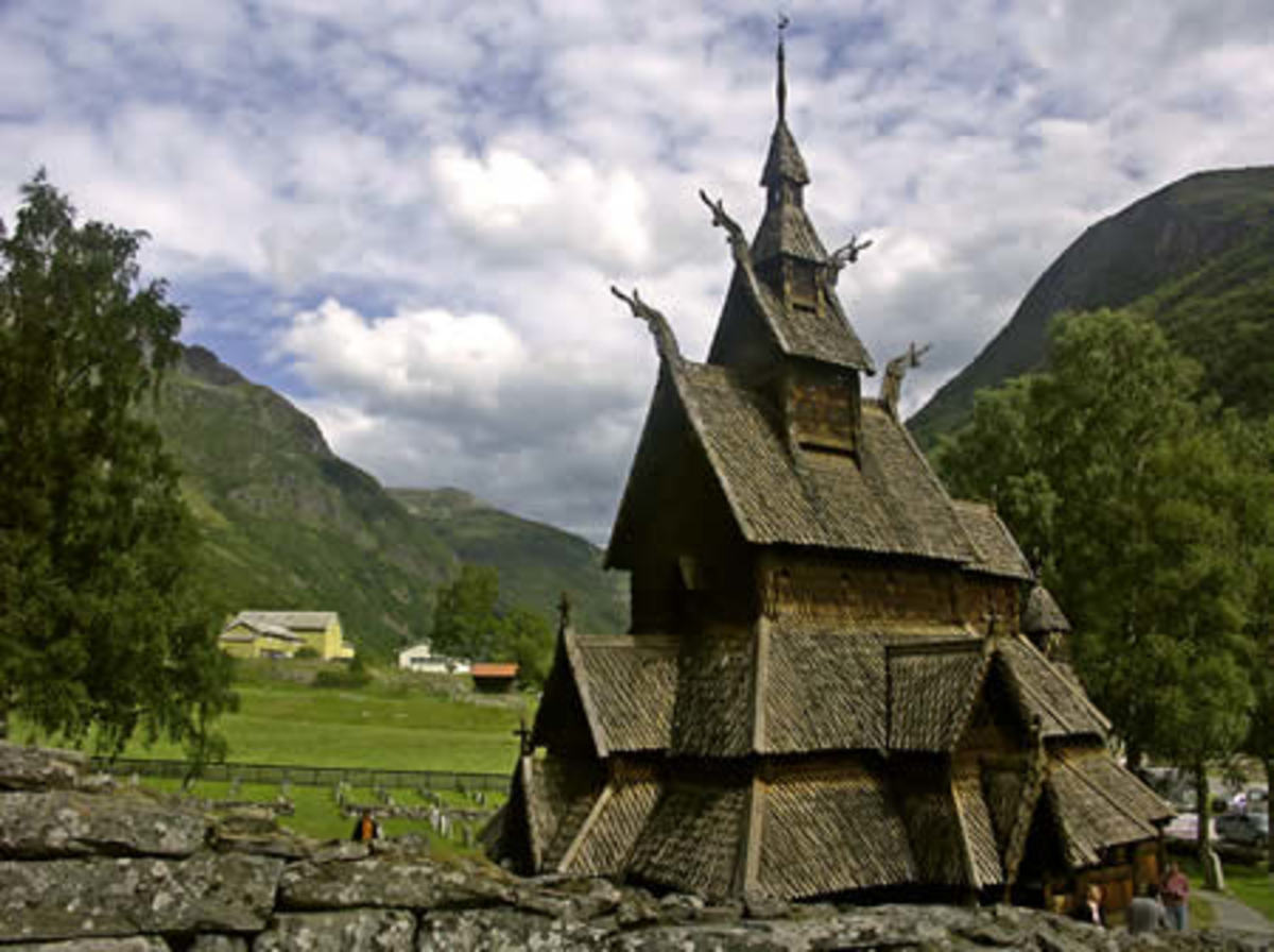 Borgund Church: The best preserved wooden church.