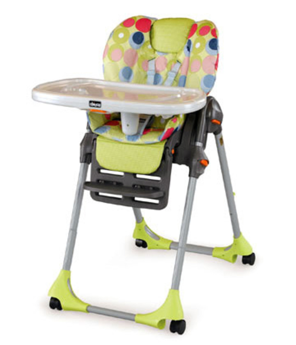 The Chicco Polly High Chair