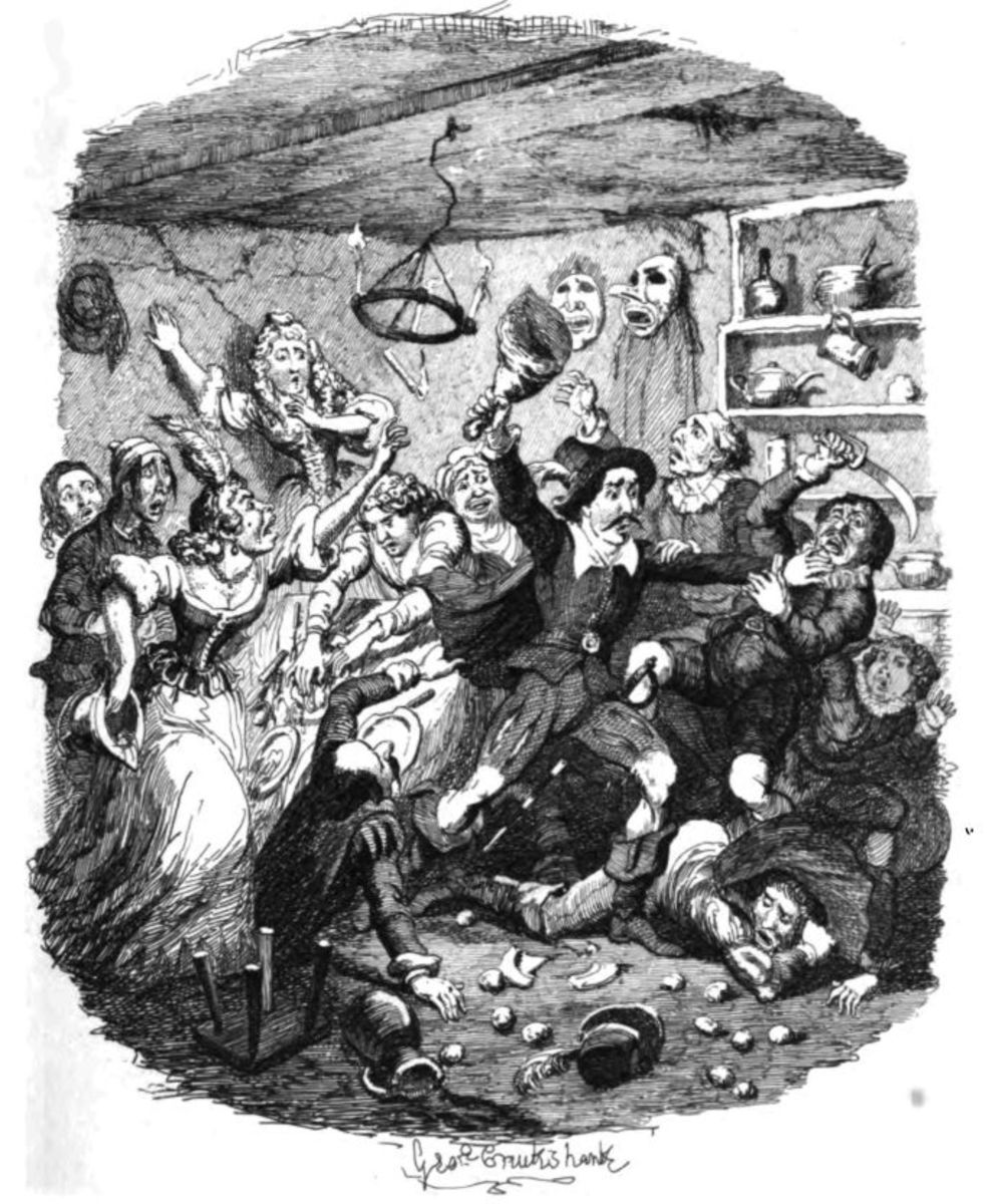 The Art of George Cruikshank