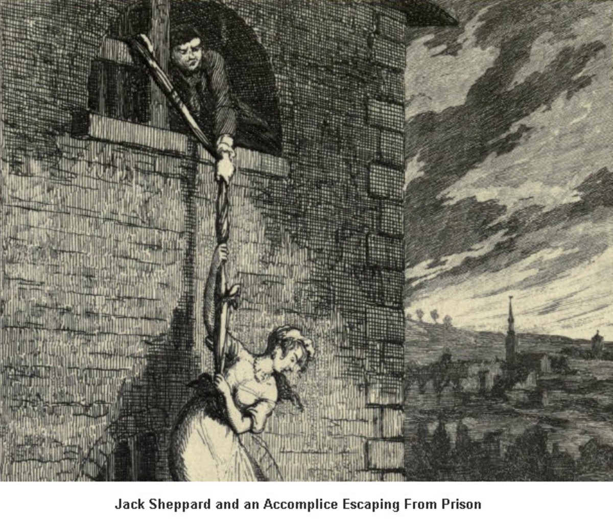 An Illustration from Jack Sheppard