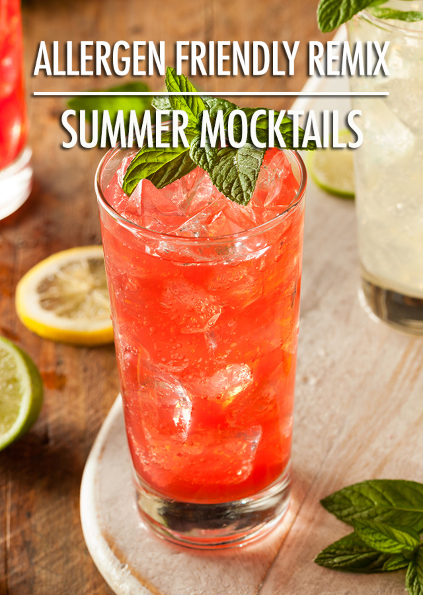 Lovely Looking Summer Virgin Drink.