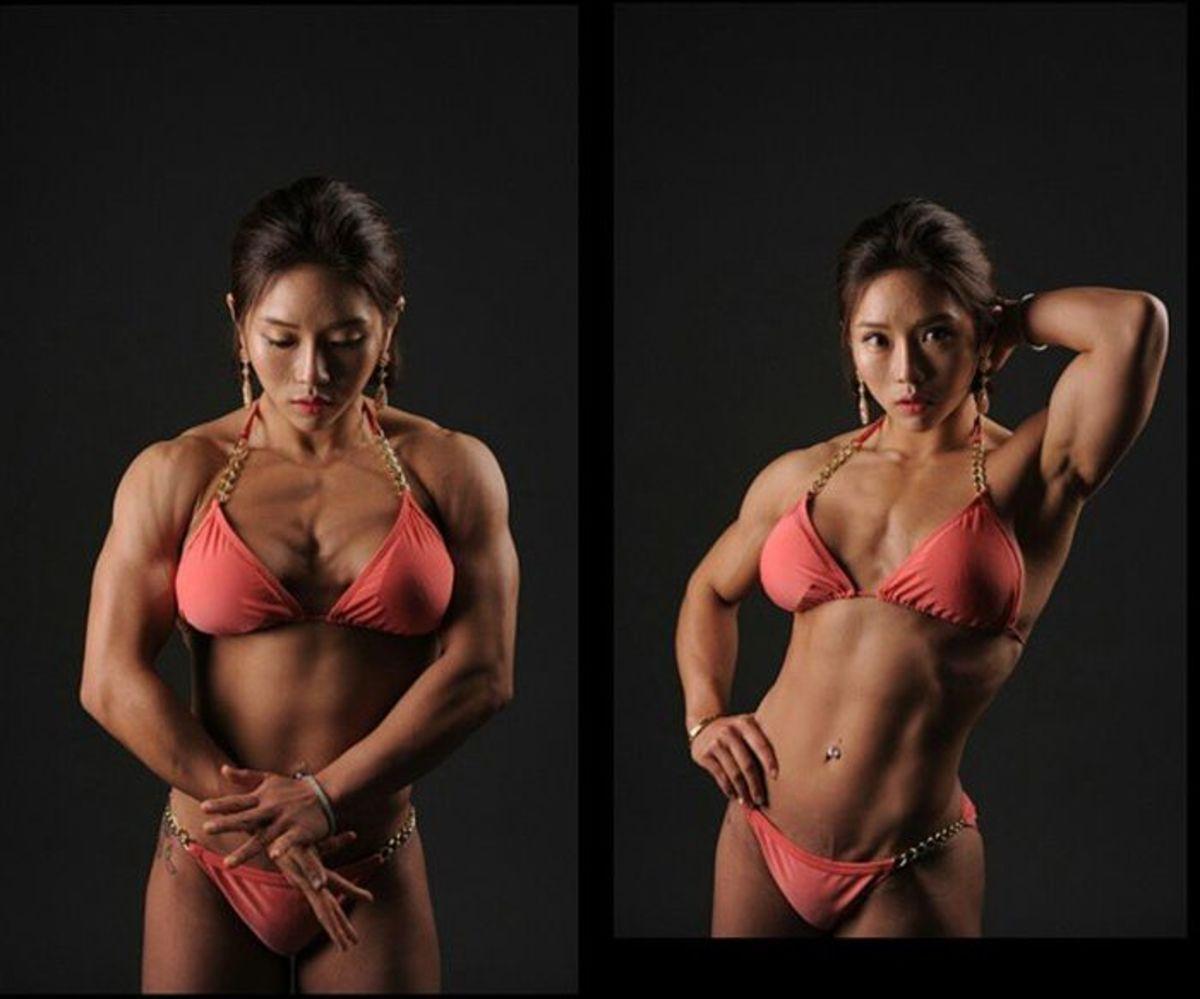 Korean Bodybuilder Song Naeun