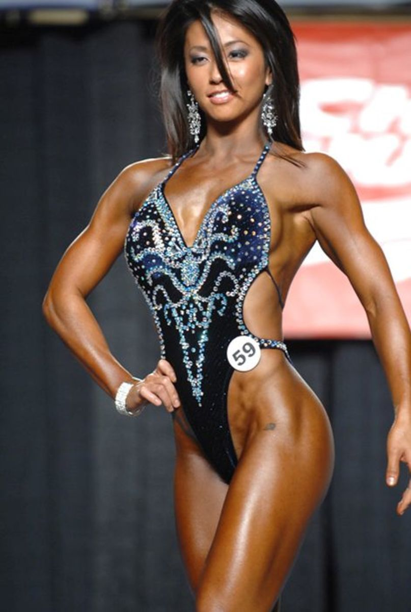 Liza Kampstra - Asian Female Fitness Competitors