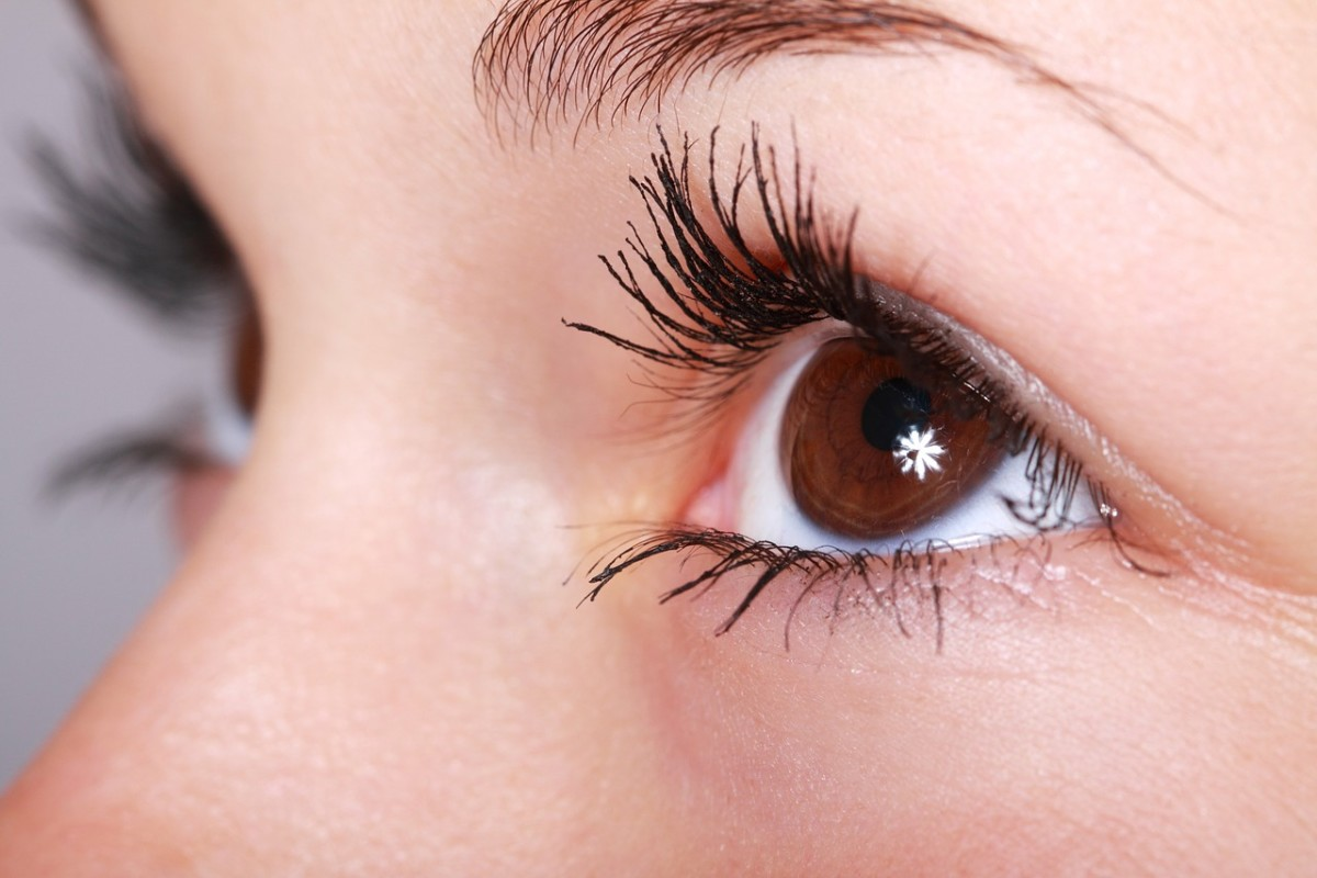 Coat your lashes with Vaseline just like you would mascara, except it will look more natural!