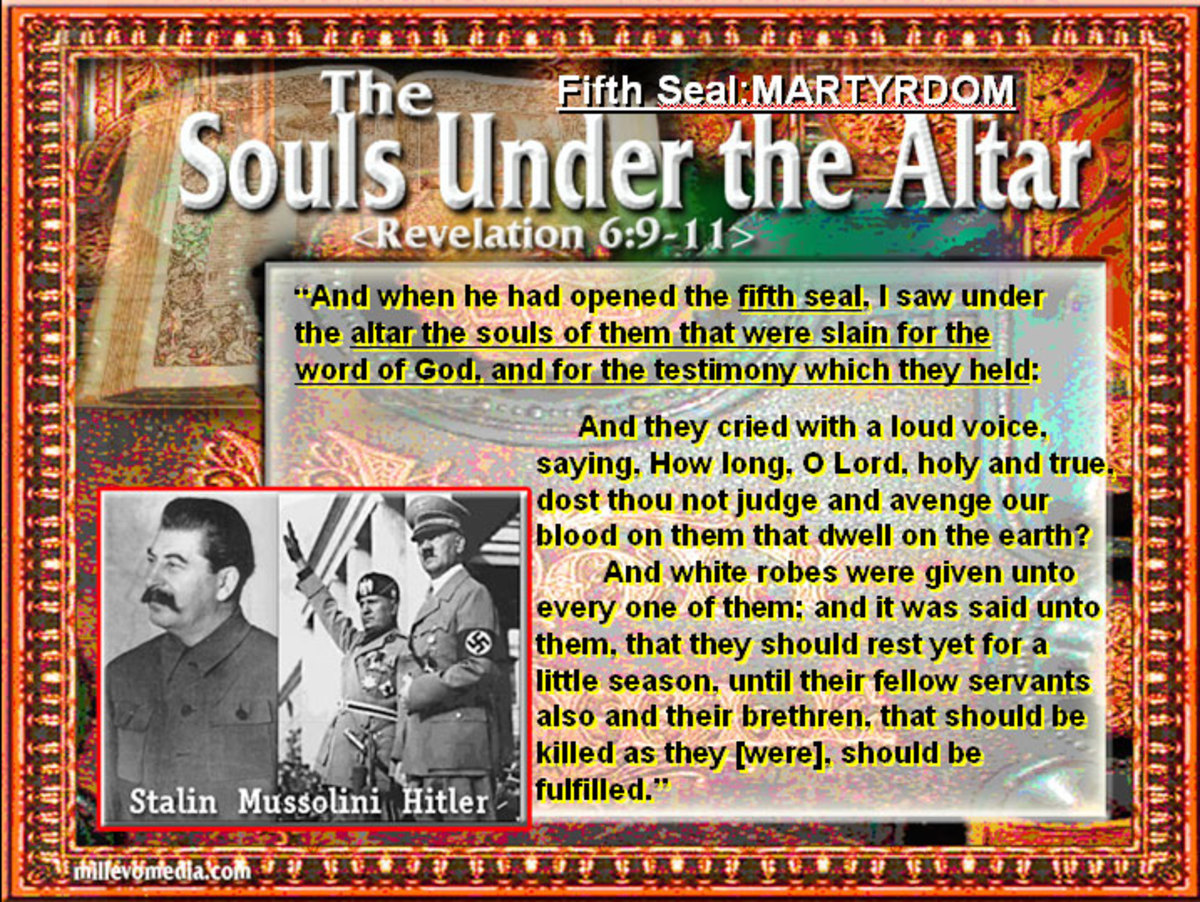 The souls under the altar of God.